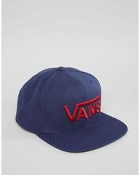 dunkelblaue Baseballkappe von Vans