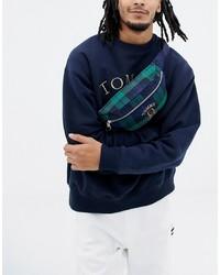 dunkelblaue Bauchtasche von Tommy Jeans