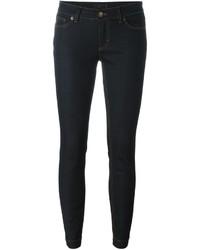 dunkelblaue enge Jeans aus Baumwolle von Dolce & Gabbana