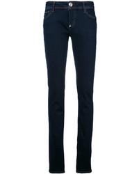 dunkelblaue enge Jeans aus Baumwolle von Philipp Plein