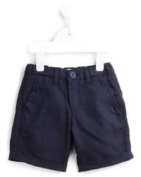 dunkelblaue Baumwollshorts von Armani Junior