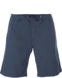 dunkelblaue Baumwollshorts von Eleventy