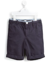 dunkelblaue Baumwollshorts von No Added Sugar
