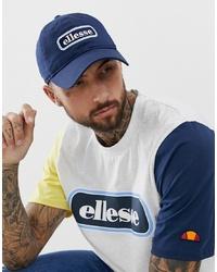 dunkelblaue bedruckte Baseballkappe von Ellesse