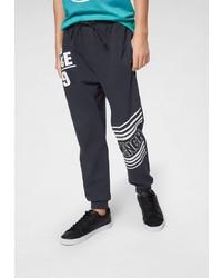 dunkelblaue bedruckte Jogginghose von Bench