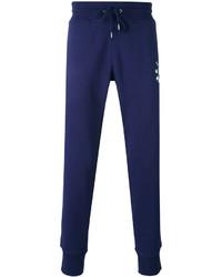 dunkelblaue bedruckte Jogginghose von Love Moschino