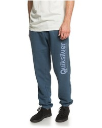 dunkelblaue bedruckte Jogginghose von Quiksilver