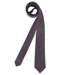 dunkelblaue bedruckte Krawatte von Roy Robson