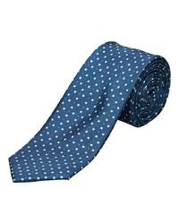 dunkelblaue bedruckte Krawatte von Selected Homme
