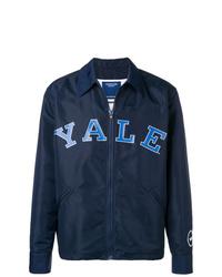 dunkelblaue bedruckte Shirtjacke von Calvin Klein 205W39nyc