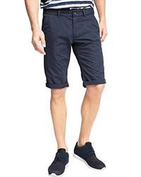 dunkelblaue bedruckte Shorts von edc by Esprit