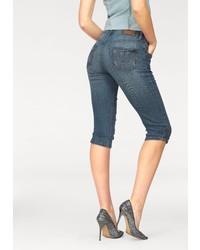 dunkelblaue Bermuda-Shorts aus Jeans von Arizona