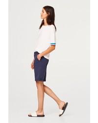 dunkelblaue Bermuda-Shorts von Esprit
