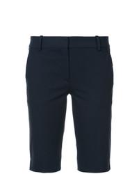 dunkelblaue Bermuda-Shorts von Theory