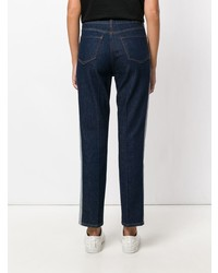 dunkelblaue beschlagene Jeans von Tommy Hilfiger