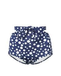 dunkelblaue Bikinihose von Morgan Lane
