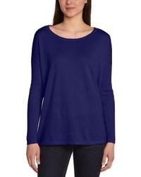dunkelblaue Bluse von Vero Moda