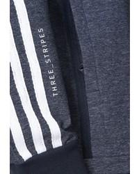 dunkelblaue Bomberjacke von adidas