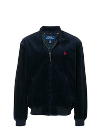 dunkelblaue Bomberjacke von Polo Ralph Lauren