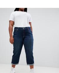 dunkelblaue Boyfriend Jeans von Levi's Plus