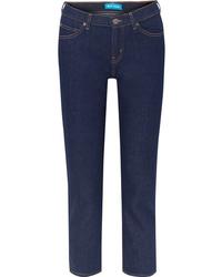 dunkelblaue Boyfriend Jeans von M.i.h Jeans