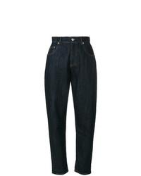 dunkelblaue Boyfriend Jeans von Miu Miu