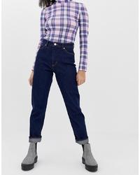 dunkelblaue Boyfriend Jeans von Monki