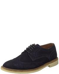dunkelblaue Business Schuhe von Tommy Hilfiger