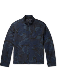 dunkelblaue Camouflage Windjacke von Polo Ralph Lauren
