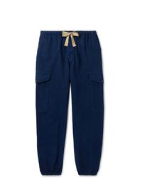 dunkelblaue Cargohose von Gucci