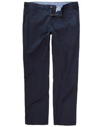 dunkelblaue Chinohose von JP1880