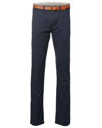 dunkelblaue Chinohose von Selected Homme