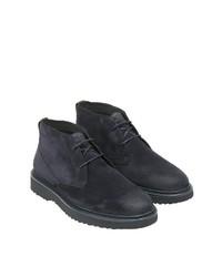 dunkelblaue Chukka-Stiefel aus Wildleder von Marc O'Polo