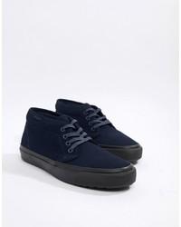 dunkelblaue Chukka-Stiefel aus Wildleder von Vans
