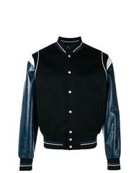 dunkelblaue Collegejacke von Givenchy