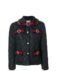 dunkelblaue Daunenjacke von Gucci