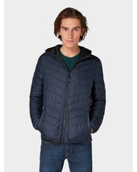 dunkelblaue Daunenjacke von Tom Tailor Denim