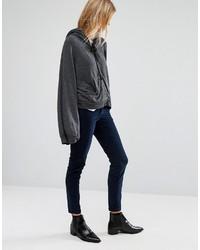 dunkelblaue enge Hose aus Cord von Vero Moda