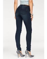 dunkelblaue enge Jeans von Arizona