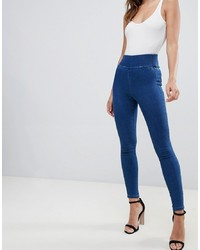 dunkelblaue enge Jeans von ASOS DESIGN