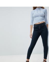 dunkelblaue enge Jeans von Asos Petite