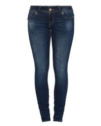 dunkelblaue enge Jeans von BLUE MONKEY