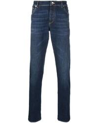 dunkelblaue enge Jeans von Brunello Cucinelli