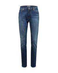 dunkelblaue enge Jeans von Calvin Klein