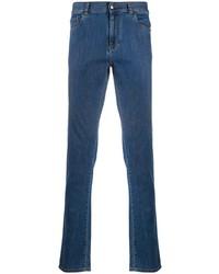 dunkelblaue enge Jeans von Canali