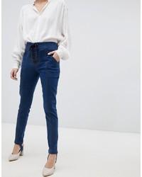 dunkelblaue enge Jeans von Current Air