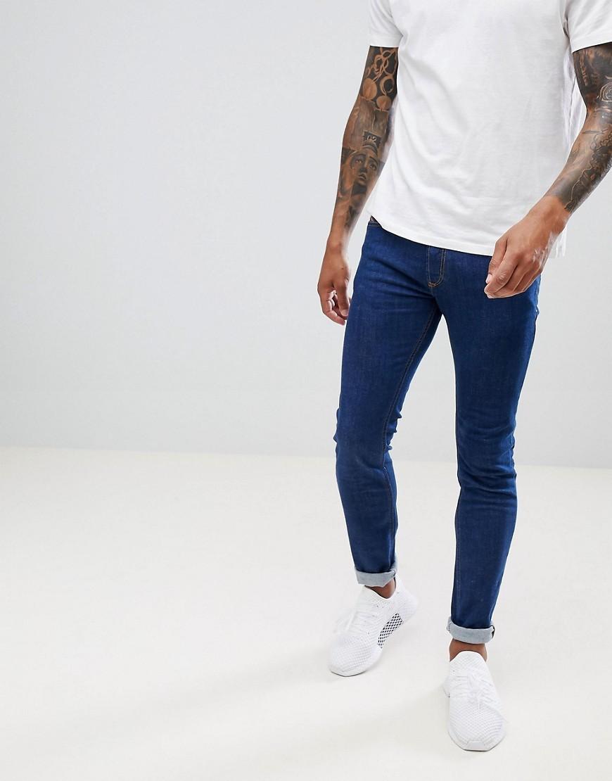 dunkelblaue enge Jeans von Diesel