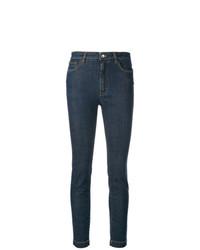 dunkelblaue enge Jeans von Dolce & Gabbana
