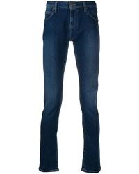 dunkelblaue enge Jeans von Emporio Armani