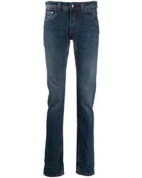 dunkelblaue enge Jeans von Etro